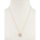 FULL TILT Rhinestone/Turquoise Cluster Necklace
