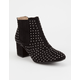 QUPID Studded Womens Boots