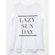 PPLA Lazy Sunday Girls Tank