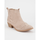QUPID Western Womens Booties