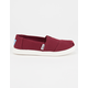 TOMS Girls Canvas Classic Slip-Ons
