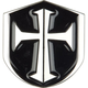 Cross Shield Belt Buckle