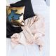 ANKIT Rose Velvet Throw Blanket
