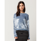 IVY & MAIN Velvet Sweatshirt