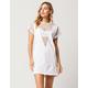 OBSESSIVE LOVE Mesh Inset T-Shirt Dress