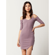 SAY WHAT? Cold Shoulder Bodycon Dress