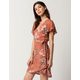 BILLABONG Hold Me Tight Wrap Dress
