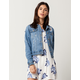 BOOM BOOM JEANS Paint Splatter Womens Denim Jacket