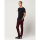 RSQ Seattle Mens Skinny Tapered Stretch Chino Pants