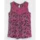 IVY & MAIN Floral Lace Girls Top