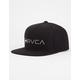 RVCA Lock Up Mens Snapback Hat
