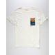 RVCA Rose Sky Mens T-Shirt