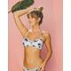 RVCA Fading Petals Bikini Top