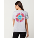 VOLCOM Trippy Bloom Womens Pocket Tee