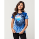 PINK DOLPHIN Wave Womens Tee