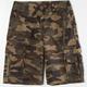 SUBCULTURE Camo Cargo Boys Shorts