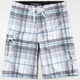 O'NEILL Santa Cruz Plaid Mens Boardshorts