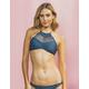 DAMSEL High Neck Macrame Bikini Top