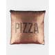 ANKIT Pizza Diet Sequin Pillow