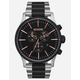 NIXON Sentry Chrono Black & Silver Watch