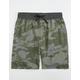 BROOKLYN CLOTH Camo Print Mens Jogger Shorts