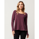 OTHERS FOLLOW Cutout Womens Thermal