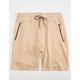 BROOKLYN CLOTH Zip Pocket Mens Jogger Shorts