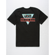 VANS Retro Tri Floral Mens T-Shirt