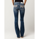 MISS ME Diamond Womens Bootcut Jeans