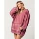 FREE PEOPLE Get It Womens Hoodie