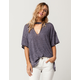FREE PEOPLE Jordan Womens Tee
