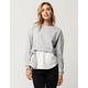 INTU Tie Side Womens Shirt Sweatshirt