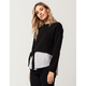 INTU Tie Side Womens Shirt Sweatshirt