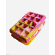 Cranberry Peach & Vanilla Waffle Sandwich Bath Bomb + Bubble Bar