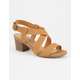 CITY CLASSIFIED Strappy Womens Heeled Sandals