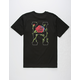 HUF Roses Mens T-Shirt