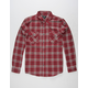 SHOUTHOUSE The Ridge Mens Flannel Shirt