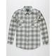 SHOUTHOUSE Oscar Longline Mens Flannel Shirt