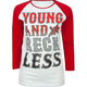 YOUNG & RECKLESS Boston Reckless Womens Baseball Tee