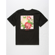 ASPHALT YACHT CLUB Flower Hive Boys T-Shirt