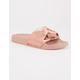 SODA Satin Knot Womens Slide Sandals