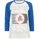 YOUNG & RECKLESS Flag Stack Womens Baseball Tee