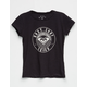 ROXY Surf Squad Logo Girls Tee