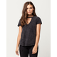 OTHERS FOLLOW Washed Womens Choker Tee