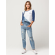 ALMOST FAMOUS Premium Ripped Womens Overalls