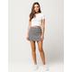 IVY + MAIN Plaid Mini Skirt