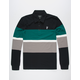 HUF Bayside Mens Rugby Shirt