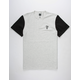 HUF Country Club Mens Henley