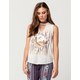 SKY AND SPARROW Desert Dreamin Womens Choker Tee