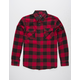 SHOUTHOUSE Traveler Mens Flannel Shirt